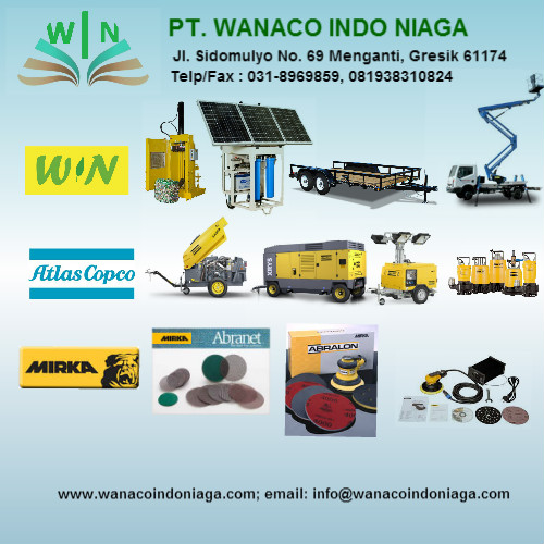 Karoseri Truck, Supplier sandblasting, supplier abrasives, supplier air compressor, supplier generator sets, supplier lighting tower, supplier submersible pump